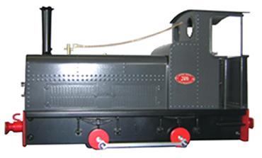 Bagnall P51 locomotive
